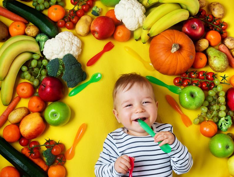 fruit et legume pour bébé